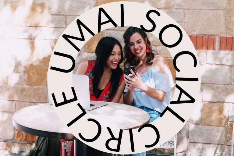 umai social circle podcast cover photo