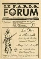 Le FAROG FORUM, 13.4