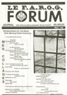 Le FAROG FORUM, 15.6