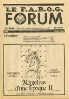 Le FAROG FORUM, 13.5