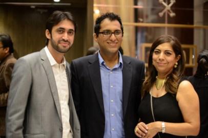 Ali Hasan (L), Asad Malik & Fareshteh
