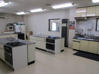 馬路生涯学習センター 1階 料理室