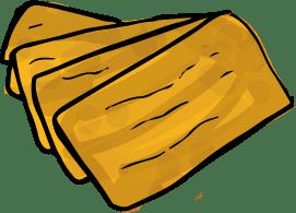 Aburaage sind frittierte Taschen aus Tofu