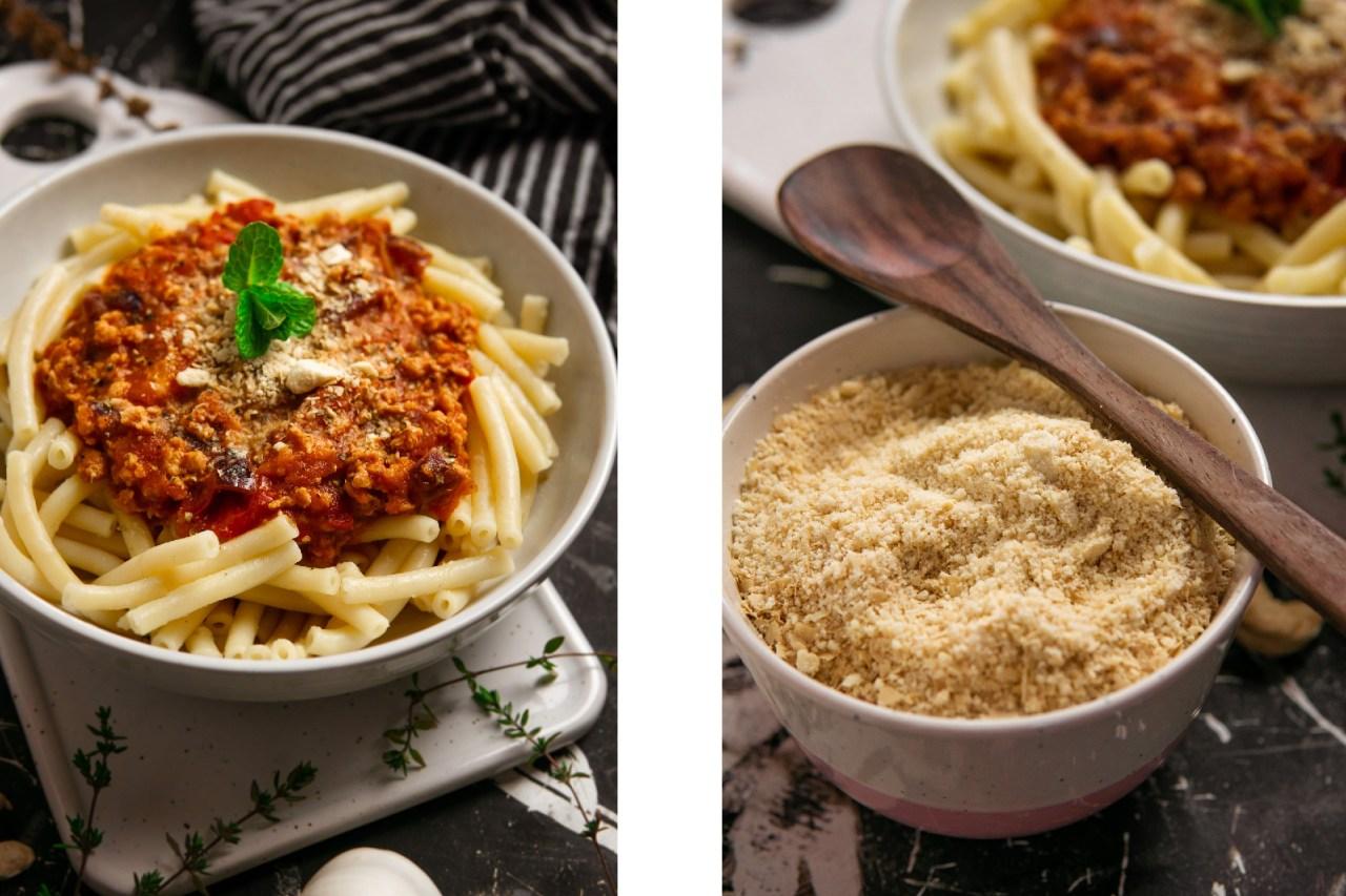 Vegane Soja-Bolognese
