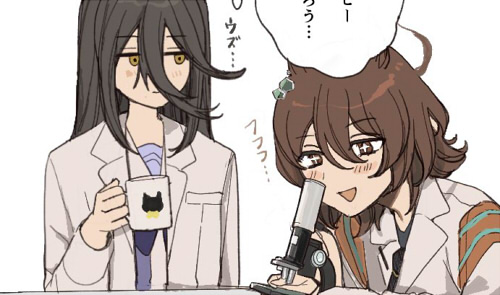 【ウマ娘】タキオンとカフェと好奇心 他ウマ娘イラストまとめ【twitter】