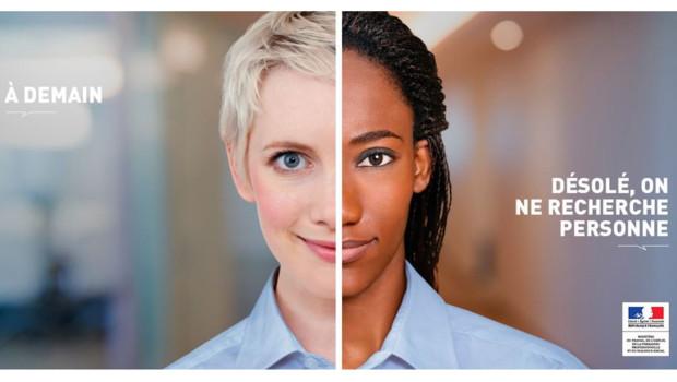 Affiche racisme anti-blanc