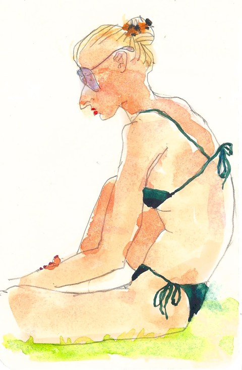 Sketchbook: In the Sun on the Bodensee