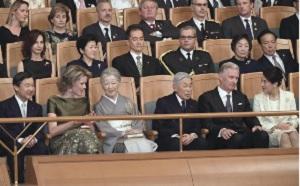 ベルギー国王夫妻主催の答礼演奏会雅子さま