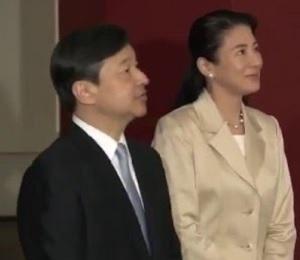 皇太子ご夫妻、若冲展ご鑑賞