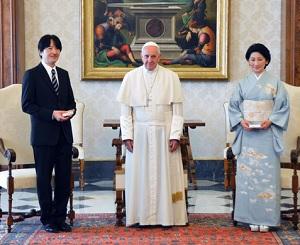 秋篠宮両殿下イタリアご訪問