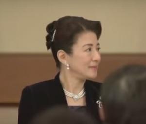 雅子さまシンガポール大統領歓迎宮中晩餐会