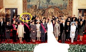 ベルギー皇太子結婚式に参列された皇太子と雅子さま