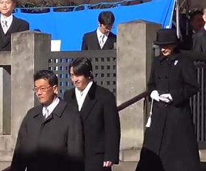 2017年1月7日武蔵野陵秋篠宮両殿下