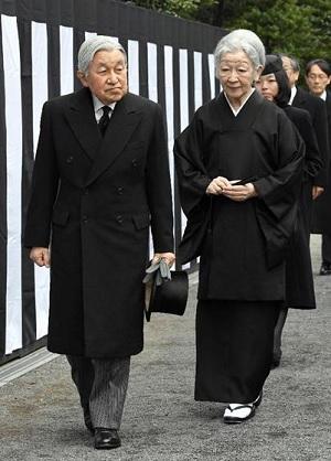 天皇皇后両陛下が三笠宮殿下の墓所をご参拝