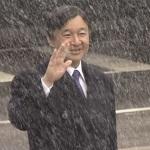札幌アジア大会のため北海道入りされた皇太子殿下