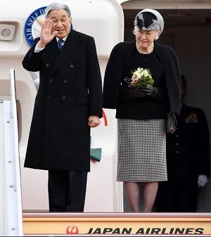 天皇皇后両陛下初のベ ベトナム訪問に向けてご出発