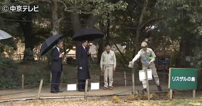 秋篠宮殿下モンキーセンター視察その2
