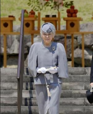 美智子皇后武蔵野陵ご参拝