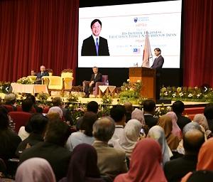 マレーシアマラヤ大学でスピーチその2