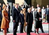 オランダ国王夫妻来日