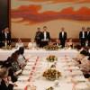 スペイン国王夫妻の歓迎晩さん会