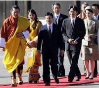 ブータン国王夫妻来日