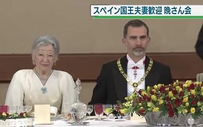 皇后陛下とスペイン国王