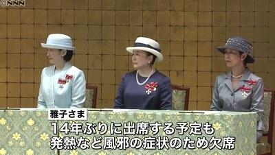 平成29年全国赤十字大会紀子様信子様久子さま