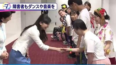 紀子さまと佳子さま 障害者ダンス大会に出席その3