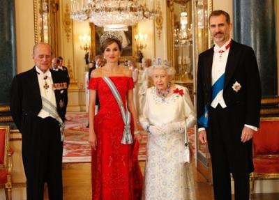 スペイン国王夫妻がイギリス訪問