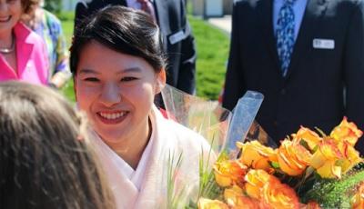 高円宮絢子女王殿下カナダ訪問
