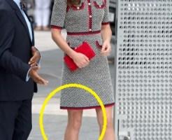 ミニスカートでお出ましキャサリン妃
