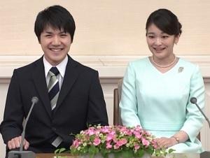 小室圭と眞子さまの婚約内定会見