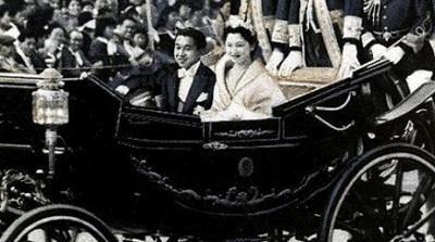 美智子皇后と今上陛下のご成婚