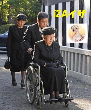 崇仁親王喪儀「墓所一周年祭の儀」に臨まれる三笠宮妃百合子さまその2