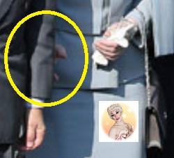皇后美智子の手