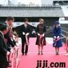 秋篠宮殿下紀子妃殿下・「出島表門橋」の完成記念式典