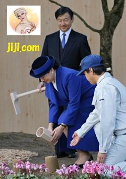 雅子さまと皇太子、お手入れ
