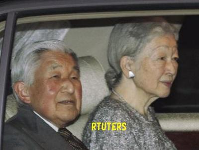 雅子さまのお誕生日会に行く天皇皇后