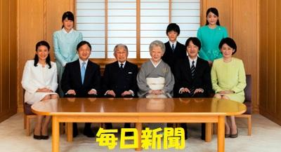 天皇家の2018年新春
