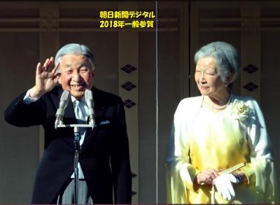 2018年一般参賀天皇皇后