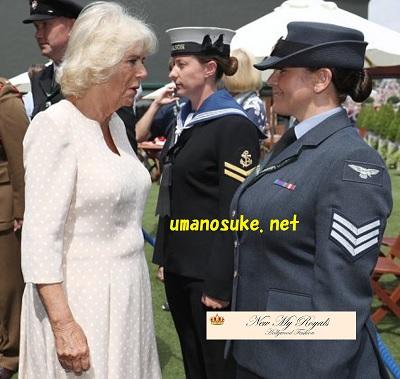 ウインブルドン観戦のカミラ夫人