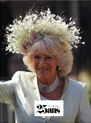 カミラ夫人の帽子