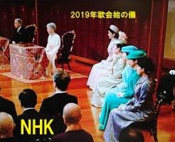 2019年歌会始の儀その1