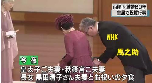 華子さま天皇皇后結婚60年