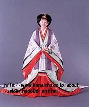 美智子皇后即位