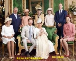 ヘンリー王子、メーガン妃、アーチ―くんの洗礼式