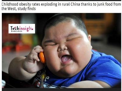 中国の肥満児