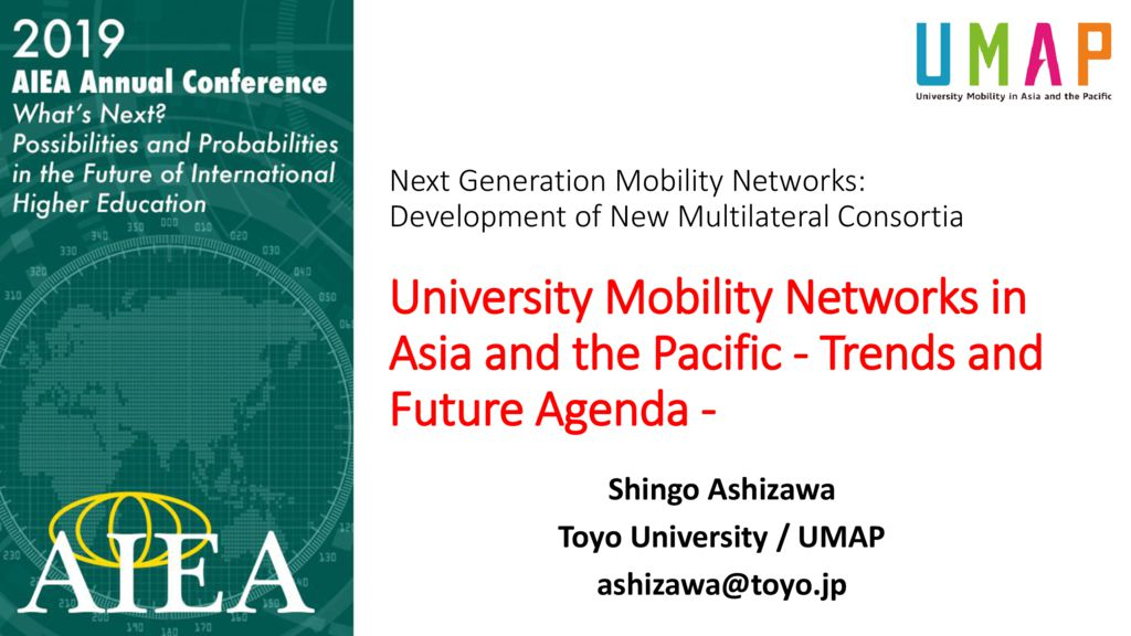 thumbnail of University Mobility Networks in Asia and the Pacific-Trends and Future Agenda_2019AIEA