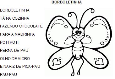 Sequência Didática Borboletinha